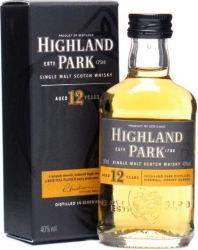 Highland Park 12y 0,05l 40%
