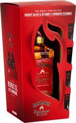 Jack Daniel´s Fire 0,7l 35% + 4x sklo