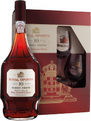 Royal Oporto 10y 0,75l 20% + 2x sklo