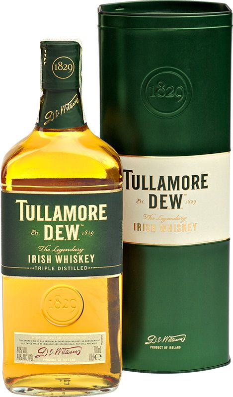 Tullamore Dew plech