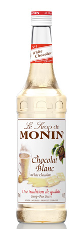 monin-bila cokolada