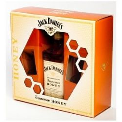 Jack Daniel´s Honey 0,7l 35% + 2x sklo