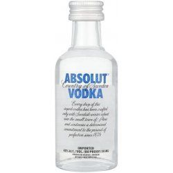 Absolut Vodka 0,05l 40%