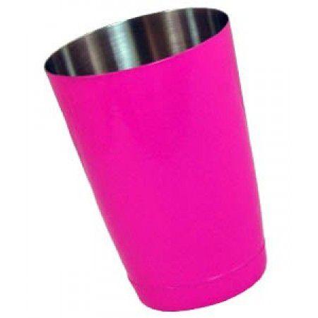 Šejkr metalický růžový 0,5l