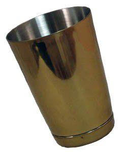 Šejkr metalický zlatý 0,5l