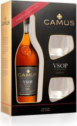 Camus VSOP Elegance 0,7l 40% + 2x sklo