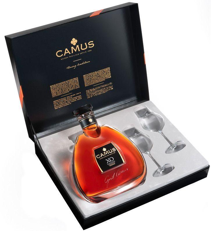 Camus XO + 2 skleničky