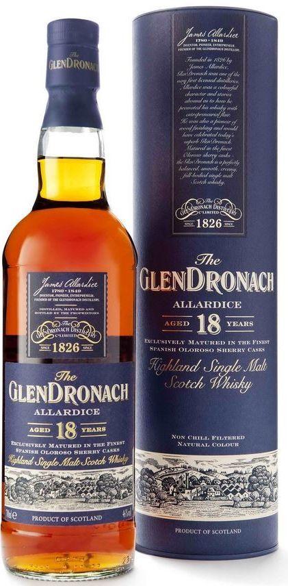 Glendronach 18y