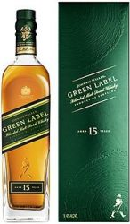 Johnnie Walker Green Label 0,7l 43%