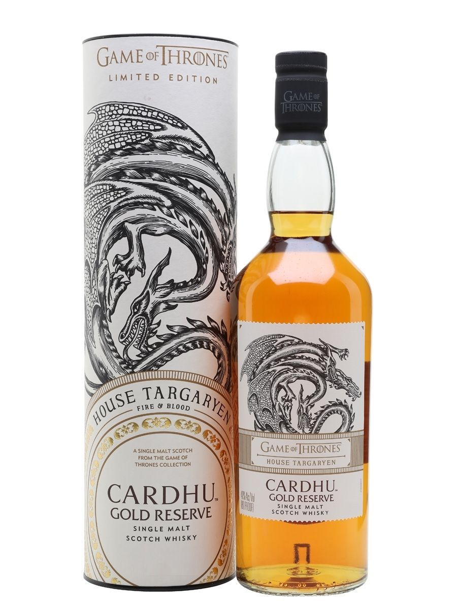 Cardhu Gold Reserve Game of Thrones House Targaryen