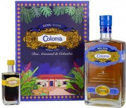 Coloma 8y 0,7l 40% + mini coffee liqueur