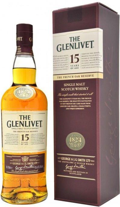 Glenlivet 15y French Oak