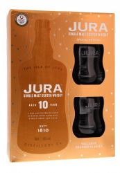 Isle of Jura 10y 0,7l 40% + 2x sklo