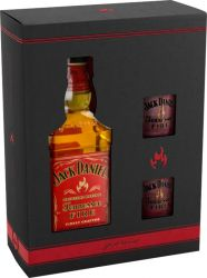 Jack Daniel´s Fire 0,7l 35% + 2x sklo