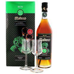 Malteco 15y 0,7l 41,5% + 2x sklo