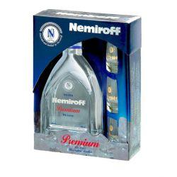 Nemiroff Premium 0,7l 40% + 3x sklo