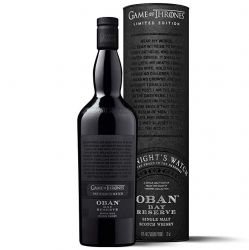 Oban Bay Reserve Game of Thrones House The Night´s Watch 0,7l 43%