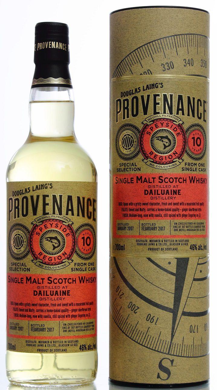Provenance Dailuaine 10y
