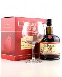 El Dorado 12y 0,7l 40% + 1x sklenička