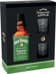 Jack Daniel´s Apple 0,7l 35% + 2x sklo