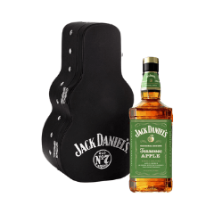 Jack Daniel´s Apple 0,7l 40% dárkové balení kytara