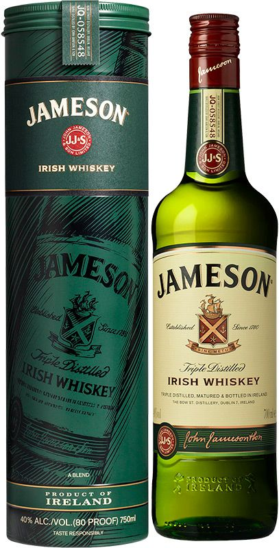 Jameson plechová tuba