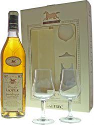 Lautrec VSOP 0,7l 40% + 2 skleničky