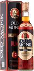 Old Monk Gold Reserve Rum 12y 0,7l 42,8%