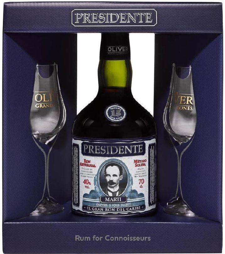 Presidente 23y + 2x sklo
