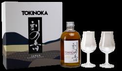 Tokinoka Blended Whisky 0,5l 40% + 2x sklo