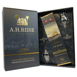 A.H.Riise Royal Danish Navy + 2x sklo