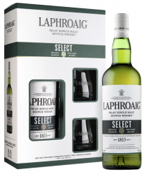 Laphroaig Select 0,7l 40% + 2x sklo